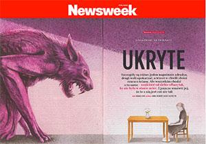 Moje Dwie Głowy w NEWSWEEKu